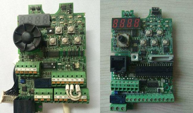 三菱变频器CPU电路维修