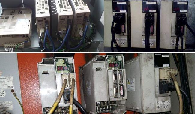三菱伺服驱动器过负荷维修